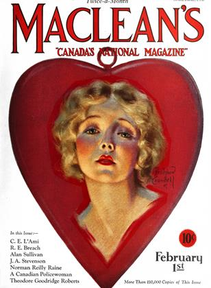 Cover for the February 1 1927 issue