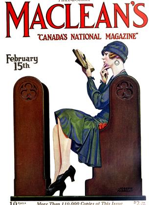 Cover for the February 15 1927 issue