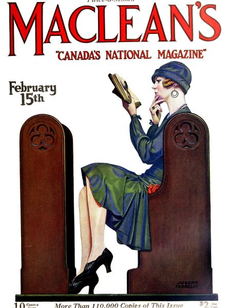 Issue: - February 15th 1927 | Maclean's