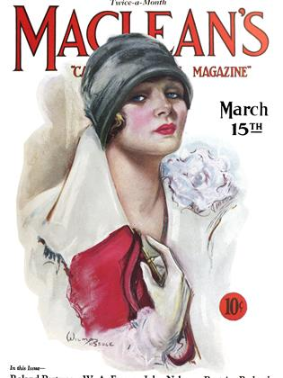 Cover for the March 15 1927 issue