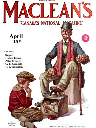 Cover for the April 15 1927 issue