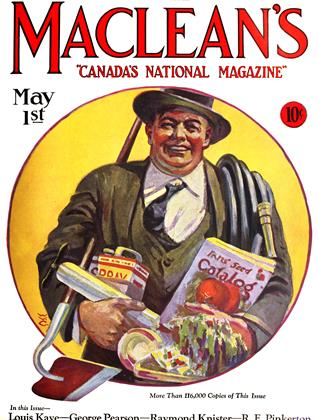 Cover for the May 1 1927 issue