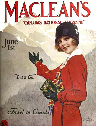 Cover for the June 1 1927 issue