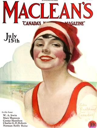 Cover for the July 15 1927 issue