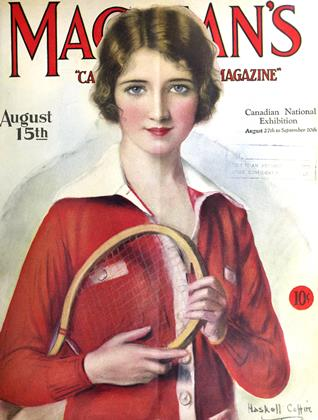 Cover for the August 15 1927 issue