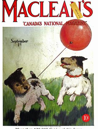 Cover for the September 1 1927 issue