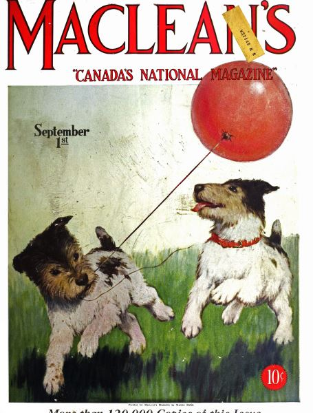 Issue: - September 1st 1927 | Maclean's