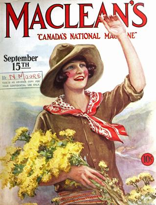 September 15TH 1927 | Maclean's