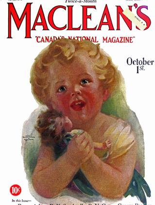 October 1st. 1927 | Maclean's