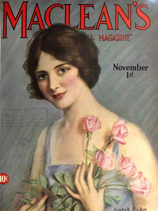 Cover for the November 1 1927 issue