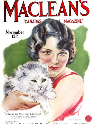 Cover for the November 15 1927 issue