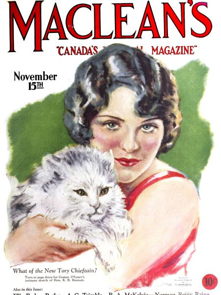 Issue: - November 15TH 1927 | Maclean's