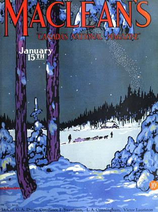 Cover for the January 15 1929 issue