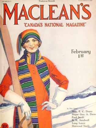 Cover for the February 1 1929 issue