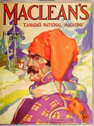 Cover for the February 15 1929 issue