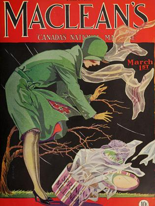 Cover for the March 1 1929 issue
