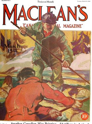 Cover for the March 15 1929 issue