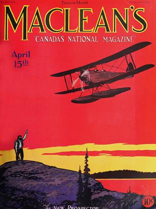 Cover for the April 15 1929 issue