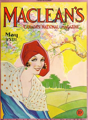 Cover for the May 15 1929 issue