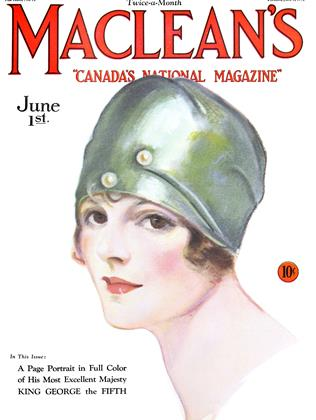 Cover for the June 1 1929 issue