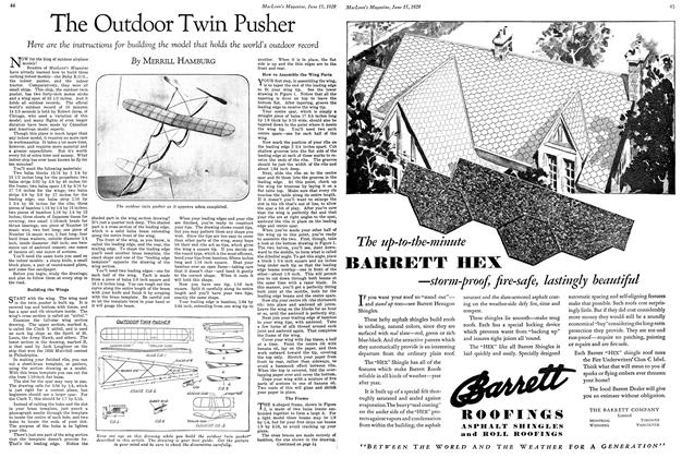 The Outdoor Twin Pusher | Maclean's | June 15TH