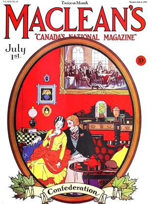 Cover for the July 1 1929 issue