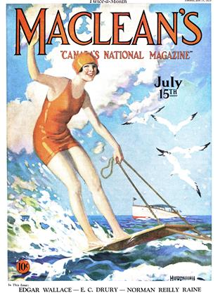 Cover for the July 15 1929 issue