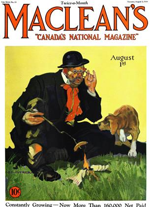 Cover for the August 1 1929 issue