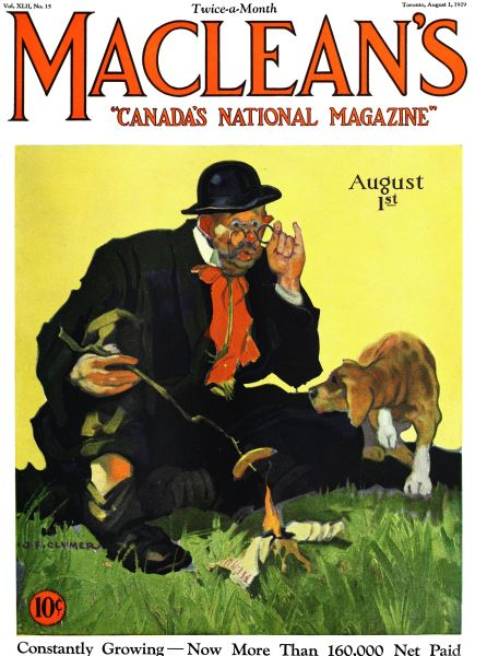 Issue: - August 1929 | Maclean's