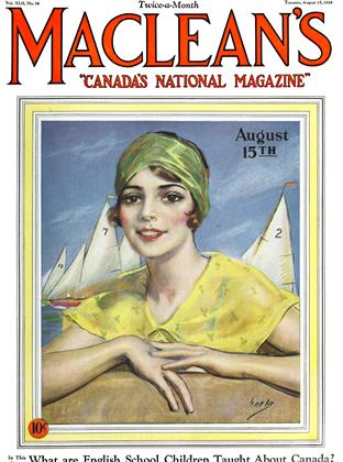 Cover for the August 15 1929 issue
