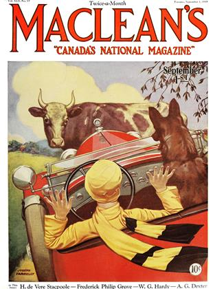 Cover for the September 1 1929 issue