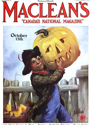 Cover for the October 15 1929 issue