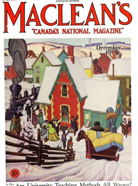 Issue: - December 1929 | Maclean's