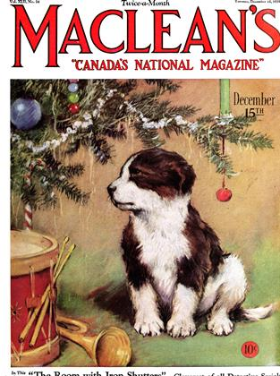 Cover for the December 15 1929 issue