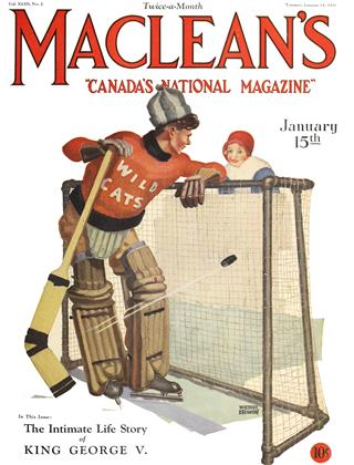 Cover for the January 15 1930 issue