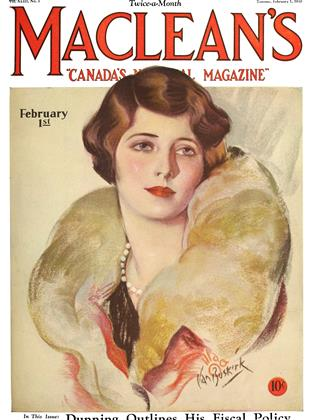 Cover for the February 1 1930 issue