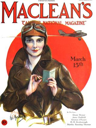 Cover for the March 15 1930 issue