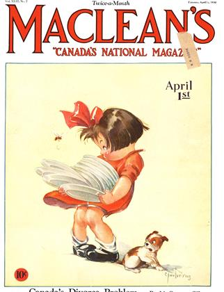 Cover for the April 1 1930 issue