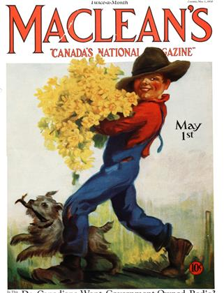 Cover for the May 1 1930 issue