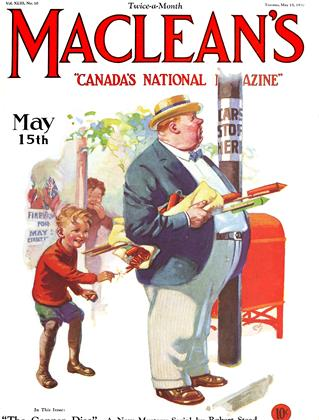 Cover for the May 15 1930 issue