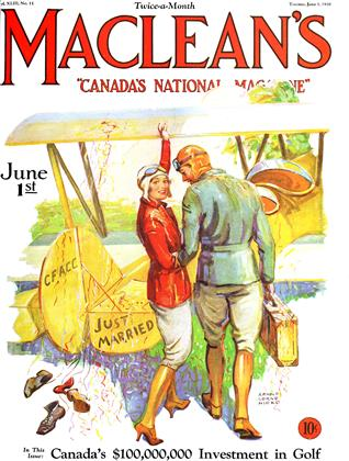 Cover for the June 1 1930 issue
