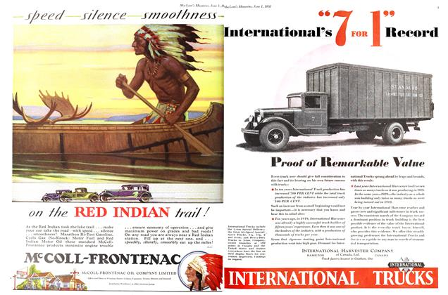McCOLL-FRONTENAC OIL COMPANY LIMITED, Page: 0_2 - June 1st 1930 | Maclean's