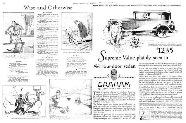 The Truth, Page: 72 - June 1st 1930 | Maclean's