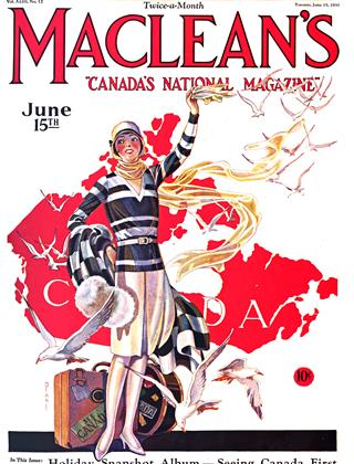 Cover for the June 15 1930 issue