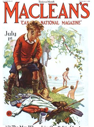 Cover for the July 1 1930 issue