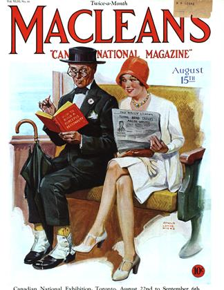 Cover for the August 15 1930 issue