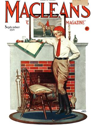 Cover for the September 15 1930 issue