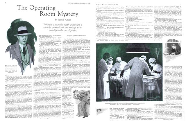 The Operating Room Mystery