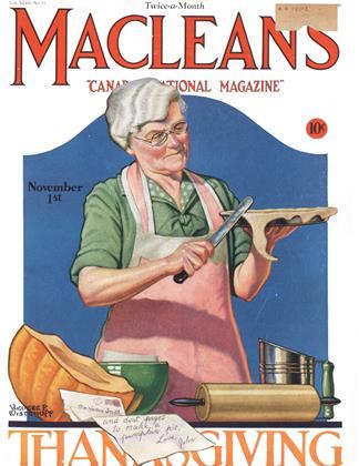 November 1st 1930 | Maclean's
