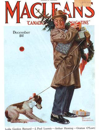 Cover for the December 1 1930 issue